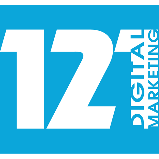 121 digital marketing logo