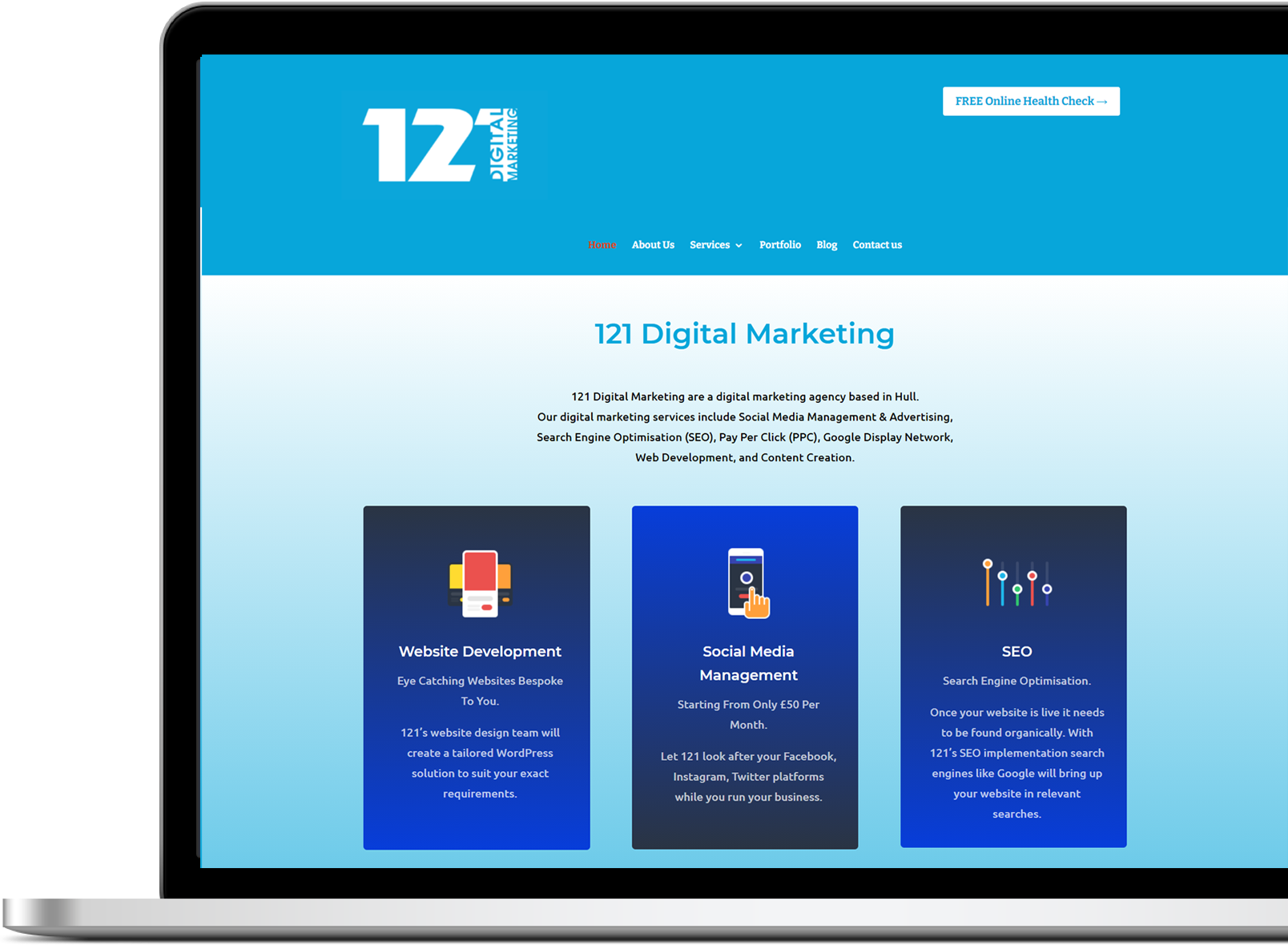 121 digital marketing